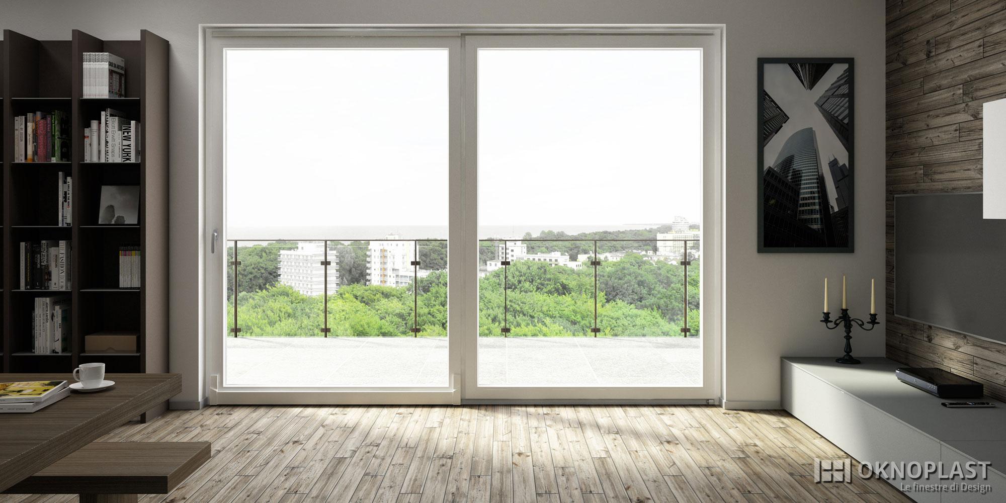 Finestre in pvc oknoplast infissi asciano - Ristrutturazione finestre in legno ...